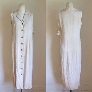 Anne Klein Silk Dress NWT 1990s Vintage